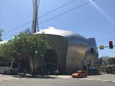 Front Corner Entrance, MoPOP, Seattle, Washington