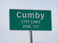 Image for Cumby, TX - Population 777