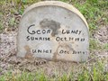 Image for George Lundy - Pilgrims, Knights and Daughters Cemetery, Rosharon, TX