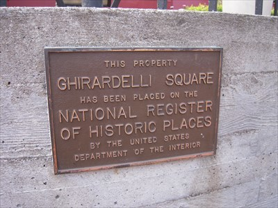 The NRHP sign.