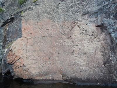 old walt mazinaw lake bon echo provincial park addington
