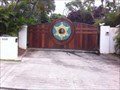 Image for Dog the Bounty Hunters front gate. - Oahu Hawai'i