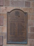 Image for First Presbyterian Church Plaque - Newark, NJ, USA