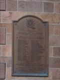 Image for First Presbyterian Church Plaque - Newark, NJ, USA
