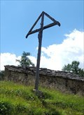 Image for Cross at the Triftkapelle - Saas-Grund, VS, Switzerland