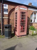 Image for Red Telephone Box, Castle Square, Ludlow, Shropshire, England