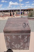 Image for Arizona National Society of Professional Engineers historic marker -- nr Teec Nos Pos AZ
