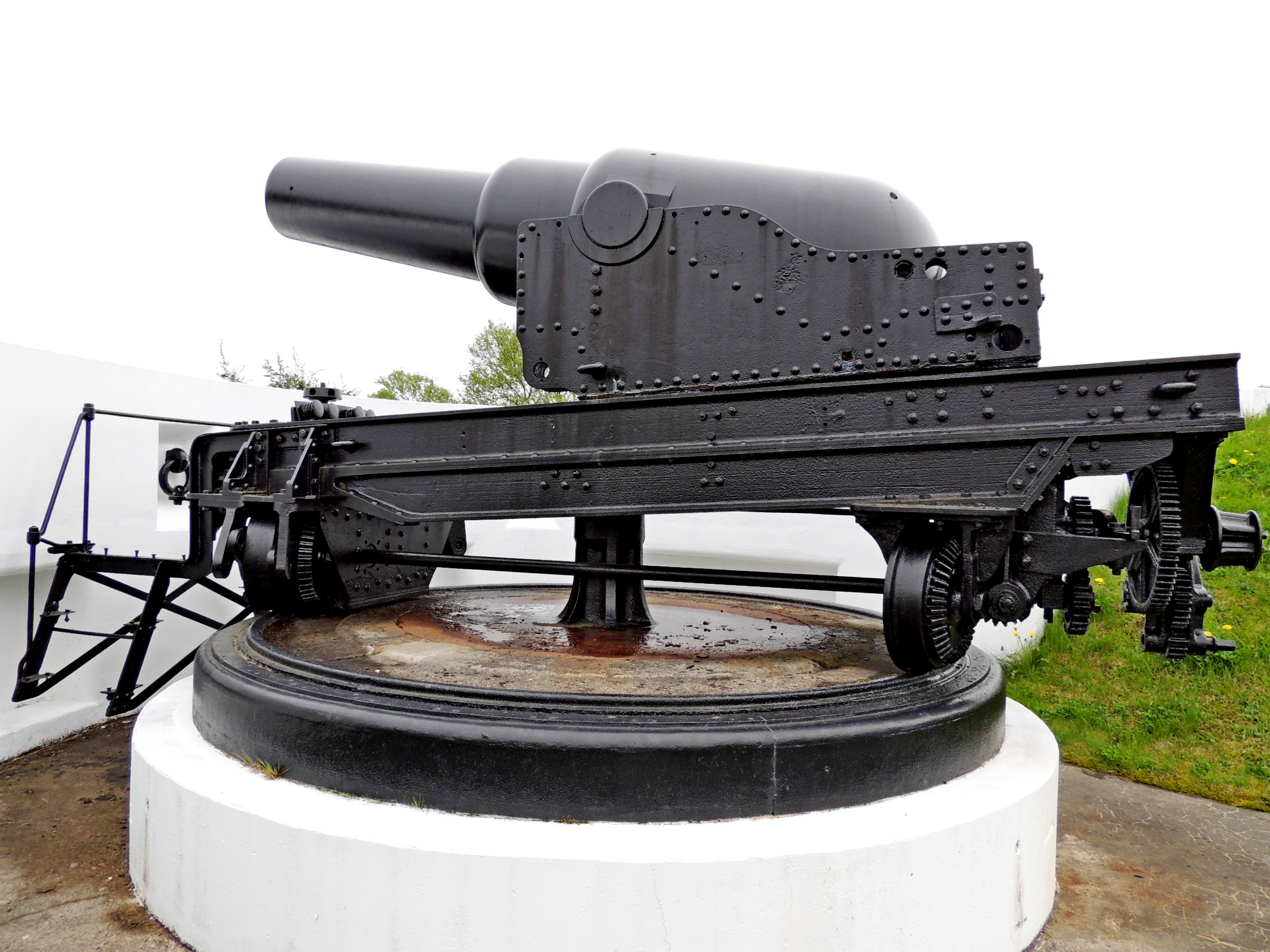 York Redoubt Muzzleloading Rifle Number 4 - Halifax, NS