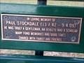 Image for Paul Stockdale, bench - Mosman, NSW, Australia