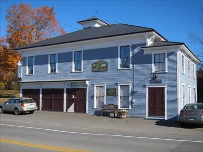 The 1889 Monson Historical Society building.