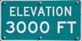 Image for Calif. Hwy. 36 - Elevation 3000