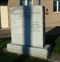 Image for Volunteer Firefighter Memorial - Lansing, NY