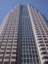 The skyscraper.