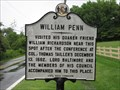 Image for William Penn visited his quaker friend