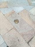 Image for Metal waymark near comic statue - Ourense, Galicia, España