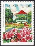 Image for Bandstand at the Halifax Public Gardens - Halifax, NS, Canada