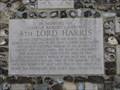 Image for George Robert Canning 4th Lord Harris - Cloistered Garden, Canterbury Cathedral, Canterbury, Kent, UK