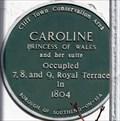 Image for Caroline Princess of Wales - Royal Terrace, Southend-on-Sea, UK