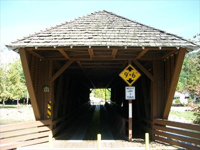 Doe River Covered Bridge - Elizabethton, Tennessee - Covered Bridges on