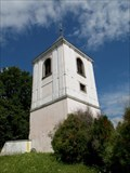 Image for Zvonice u kostela Nanebevzetí Panny Marie - Kotoun, okres Plzen-jih, CZ