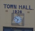 Image for Town Hall clock - Bridgetown, Western Australia