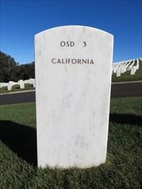 Reuben Jasper Phillips, Backside, San Francisco National Cemetery