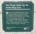 Image for The Wang Center for the Performing Arts
