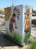 Image for Kokopelli on Utility Box - Hayward, CA