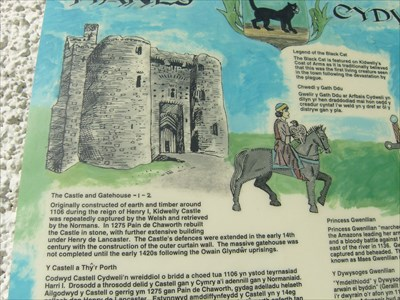 Kidwelly Castle - Historic Fort