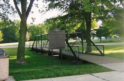 bridge and marker
