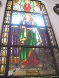 Image for Saint stained glass - Paróquia Nossa Senhora de Fátima - Guaruja, Brazil