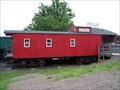 """Image for """"Christmas Caboose"""" - Retired Cupola - Hannibal, New York"""