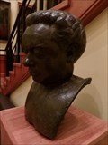 Image for Dylan Thomas - Death Mask - Cardiff, Wales.