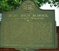Image for Ware High School Civil Rights Milestone-Augusta, Georgia