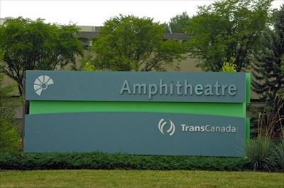 TransCanada Amphitheatre, MRU - sign