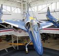 Image for Four x A-4 Skyhawks (Blue Angels Atrium) - Pensacola, Florida, USA.