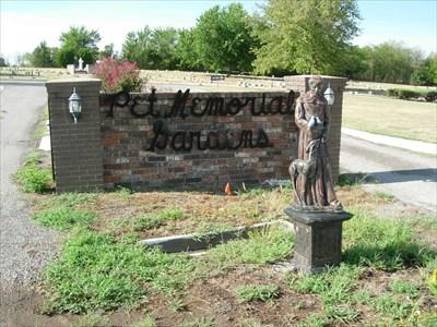 Pet Memorial Gardens Norman Ok 73072 Pet Cemeteries