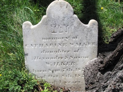 Gravestone Inscription, Fredericksburg, VA