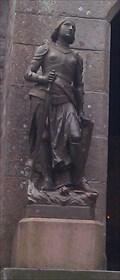 Image for Joan of Arc, Eglise Saint Pierre - Mont Saint Michel - Normandy, France