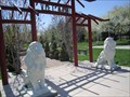 Image for Lions guarding the Vietnam Gardens - Salt Lake City, Utah