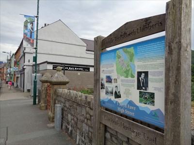 Historic Marker - Y Strad Fawr - Llanberis