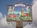 Image for Pictorial Village Sign - Hayes Street/West Common Road, Hayes, Bromley, UK