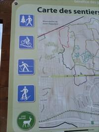 Photo des logos  messages a gauche du panneau.  Photo logos messages left panel.