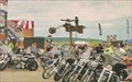 Image for Flaming Motorcycle and Man - Sturgis, SD