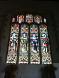 Image for Stained Glass Windows, St Nicholas - Little Saxham, Suffolk