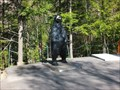 Image for Bear Statue at Canyon Sainte-Anne, Québec/ Canada