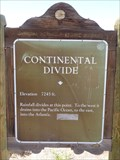 Image for U.S. 40 - Continental Divide - New Mexico.