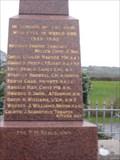Image for Carew War Memorial - Carew  - Pembroke