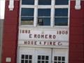Image for 1909 - E. Romero Hose and Fire Company - Las Vegas, New Mexico