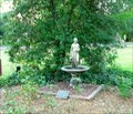 Image for Fountain at Roselawn Museum Cartersville, Gerogia